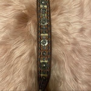 Dior Bags - NIB Dior Boho Fringe Saddle Strap